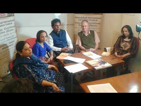 AILF (Ahmedabad International Literature Festival) 2017 Press Conference