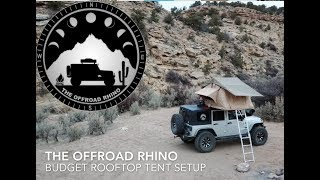 How to Run a Rooftop Tent on a Budget! - GET OVERLANDING!