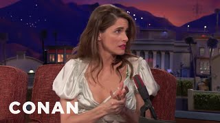 Why Amanda Peet Never Consults Her Doctor Sister  - CONAN on TBS