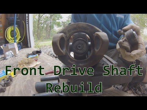 Project TJ Wrangler: Ep 21- Front Drive Shaft Rebuild