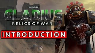 THE SPACE MARINES HAVE LANDED! Warhammer 40K: Gladius - Relics of War - Introduction Gameplay