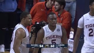 Auburn Men's Basketball Defeats Ole Miss 85-70
