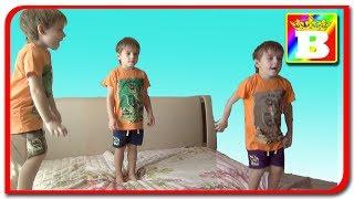 3 Copilasi sareau pe pat (Five Little Monkeys Jumping On The Bed) in Romana la Bogdan`s Show