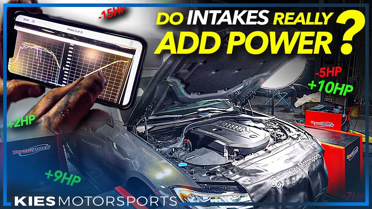 MYTH-BUSTING INTAKES! DOES AN INTAKE ON A G20 M340i MAKE ANY POWER?!