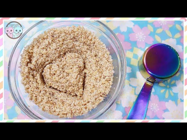HOW TO MAKE NUT FLOUR FOR BAKING & GLUTEN-FREE RECIPES, ALL PURPOSE FLOUR SUBSTITUTE, DIY FLOUR 🥜