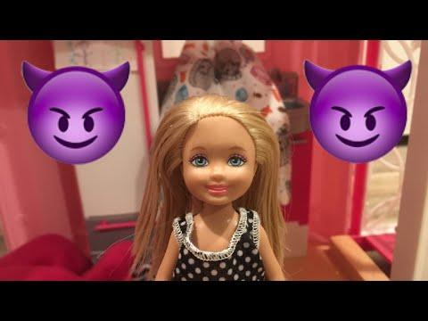 Barbie's Little Sister Chelsea RUINS Skipper's  Sleepover