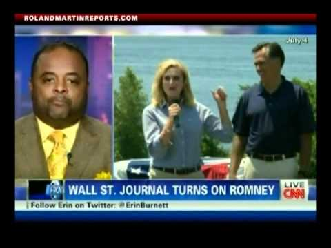 Wall Street Journal Turns On Romney And Ann Romney Attacks Obama Campaign