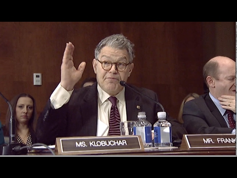 """Franken """"Sets the Record Straight"""" Over Cruz Comments During Sessions Hearing"""