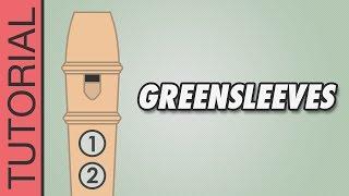 Greensleeves - Recorder Notes Tutorial