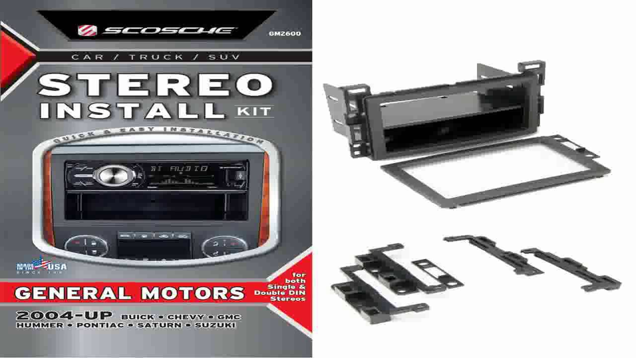Scosche Dash Kit For 2004 Pontiac Grand Prix Installation Youtube Cheap Wiring Harness Find Deals On