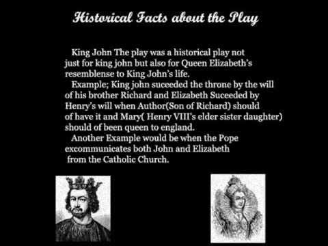 Shakespeare- King John The play