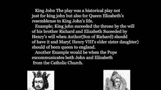 Shakespeare- King John The play