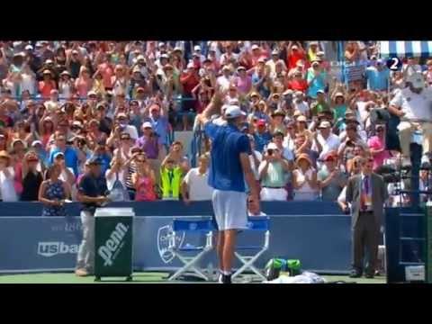 John Isner - Rafael Nadal Cincinnati 2013 Complete Match
