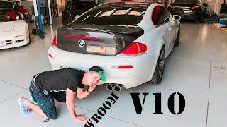 BMW M6 V10 - F1 Sound - Stage 2 + Klappenauspuff - SimonMotorSport - Folge 134