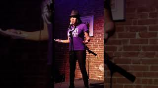 Jereni-Sol at the Nuyorican Poets Cafe: Move the crowd competition. Video 1
