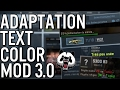 Adaptation Text Color Mod 3.0 | CSGO
