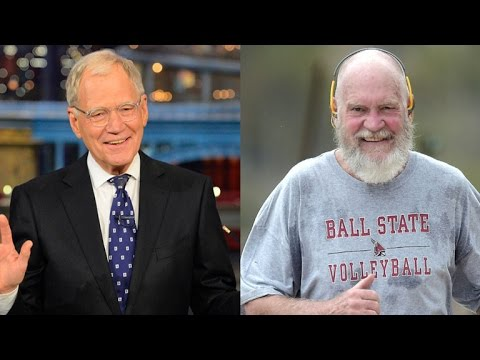 David Letterman Is Bald, Bearded and Unrecognizable in New Pics On a Jog