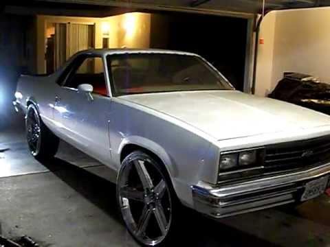 1987 Chevrolet El Camin0 On 26 Irocs Pt 3 By Hulk Kustoms Youtube