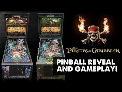 Pirates of the Caribbean pinball reveal and gameplay! Jersey Jack Pinball at Expo 2017