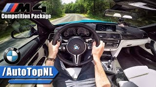 2018 BMW M4 COMPETITION Convertible POV Test Drive by AutoTopNL