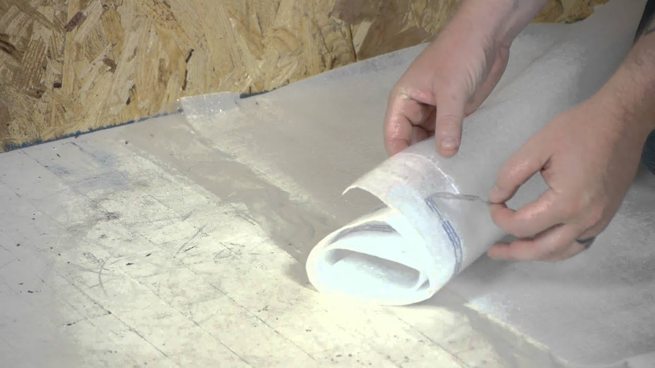 How To Install A Vapor Barrier Below Laminate Flooring Working On - How to install moisture barrier under laminate flooring