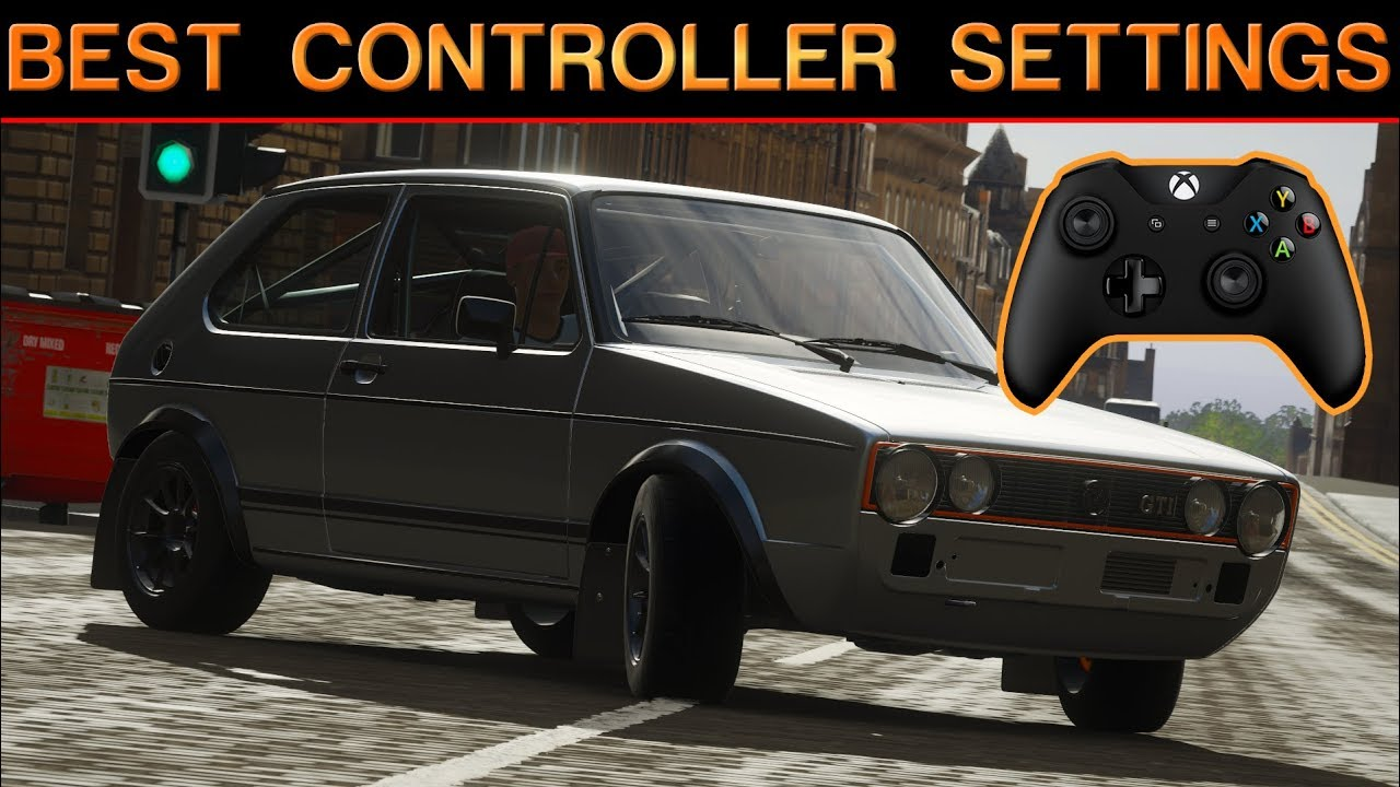 Forza Horizon 4 | Best Controller Settings!