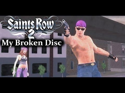 My Broken Saints Row 2 Disc