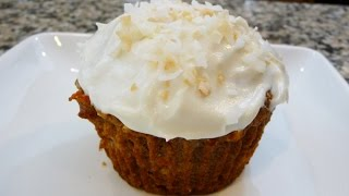 Whole Wheat Carrot Cupcakes, Recipe Low Calories,