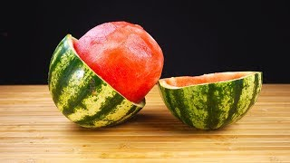 SIMPLE LIFE HACKS WITH WATERMELON