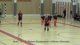 Naisten futsal-liiga 2018-2019 / Ylöjärven Ilves vs. Team VanPa maalikooste 17.11.2018