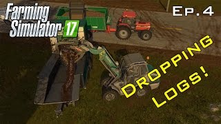 Logging With A New Chipper - Farming Simulator 17 Ep.4