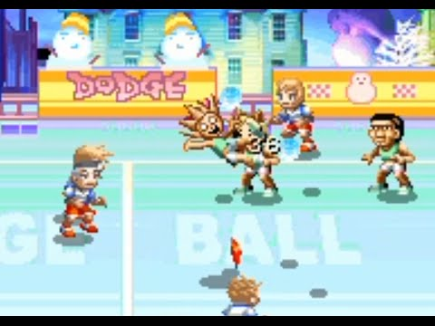 Super Dodge Ball Advance (GBA) Playthrough - NintendoComplet