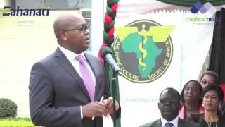 dr nicholas muraguri at the launch of the national fistula week