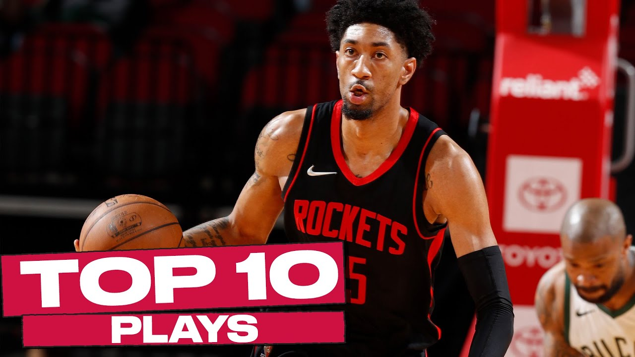 Top 10 Houston Rockets Plays of the Year! 🚀