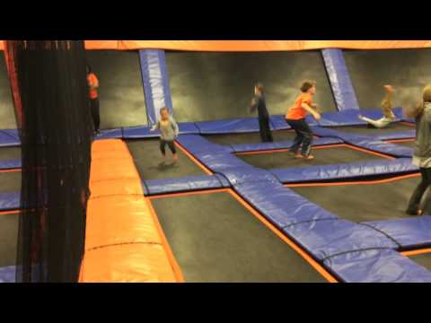 Adrian at sky zone in Columbia Maryland