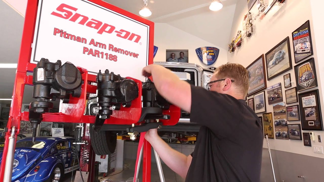 Snap On Par1188 Pitman Arm Puller Demonstration Youtube
