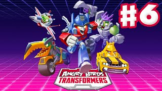 Angry Birds Transformers - Gameplay Walkthrough Part 6 - Sentinel Prime Rescue! (iOS)