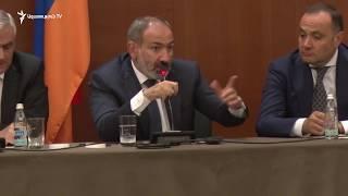 Ռուբեն Վարդանյան-Նիկոլ Փաշինյան հարցուպատասխան Մոսկվայում