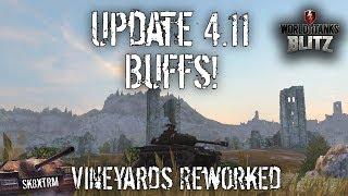 Update 4.11 Preview - Vineyards Reworked + Buffs - Wot Blitz