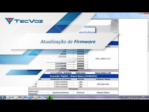 Suporte TecVoz Atualizando o Firmware do Stand Alone ...