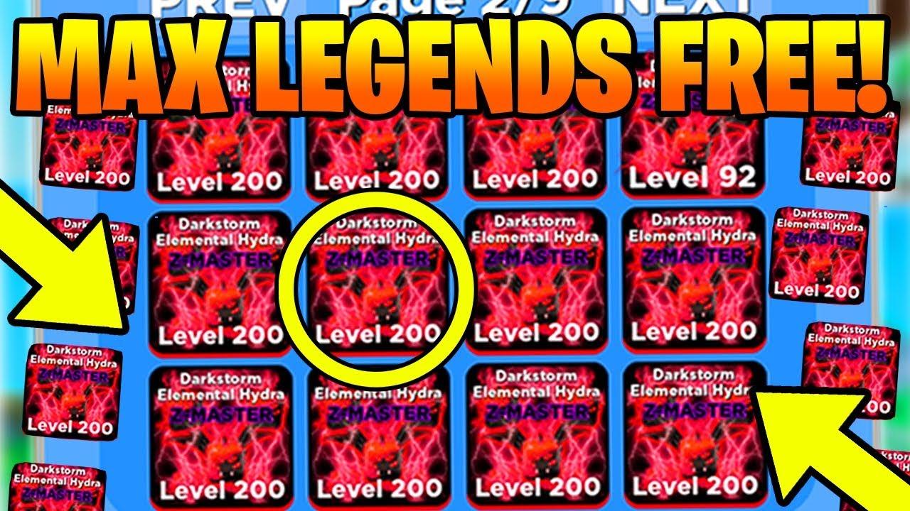 Free 1000 Infinity Lord Ultra Beasts Pets In Ninja Legends