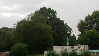 Starting to rain in Cleveland Tennessee