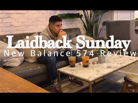 Laidback Sunday - New Balance 574 Review