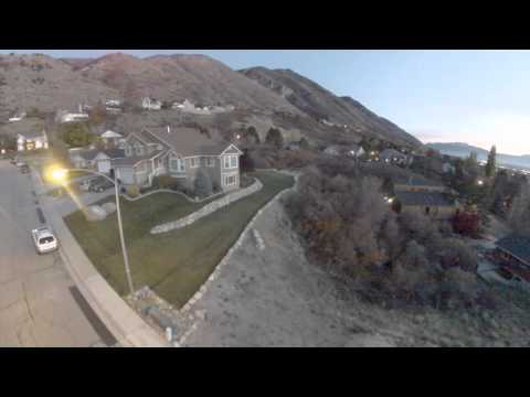Provo Utah - Sherwood Hills - Aerial Video