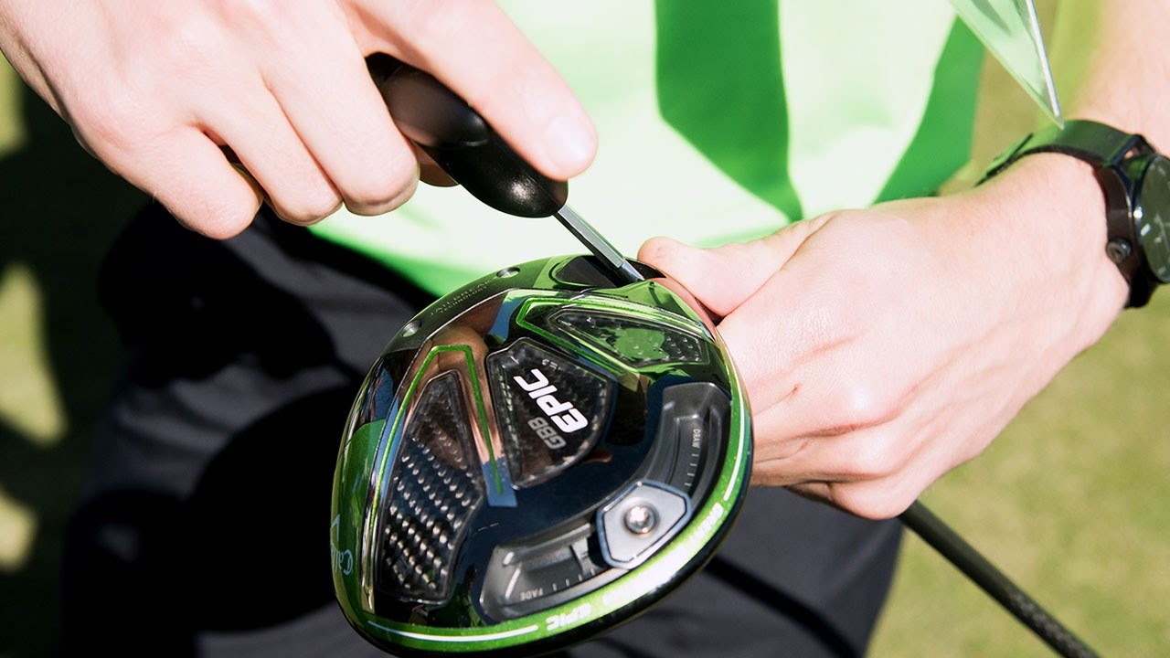 How To Adjust Your Callaway Gbb Epic Driver