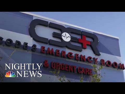 Freestanding Emergency Centers Vs. Urgent Care: A Costly Difference | NBC Nightly News