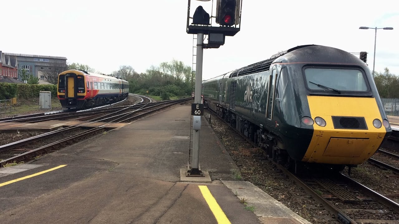 Trains At Exeter St Davids 12 4 17 Youtube