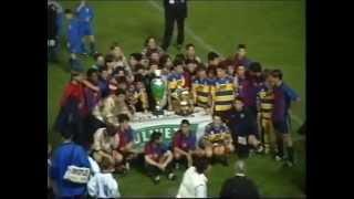 Lionel Messi - Cesc Fabregas - Gerard Piquè a 15 anni - Barcellona Parma - Finale trofeo Maestrelli