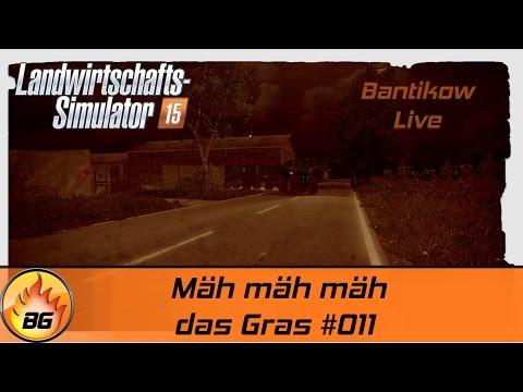 LS 15 Bantikow MP #011 | Mäh mäh mäh das Gras | Let's Play vom Livestream [HD]