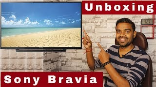 Sony Bravia 32 inch Full HD LED TV - Unboxing Best LED TV in this Price